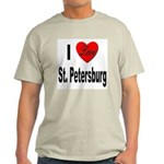 I Love St. Petersburg (Front) Light T-Shirt