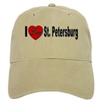 I Love St. Petersburg Cap