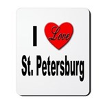I Love St. Petersburg Mousepad