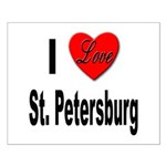 I Love St. Petersburg Small Poster