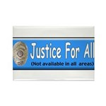 Justice Rectangle Magnet (10 pack)