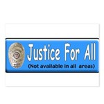 Justice Postcards (Package of 8)
