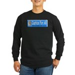 Justice Long Sleeve Dark T-Shirt
