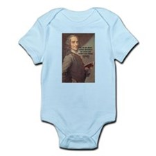 French Philosopher: Voltaire Infant Creeper