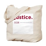 Justice Tote Bag (1-sided, NCLR spelled out)