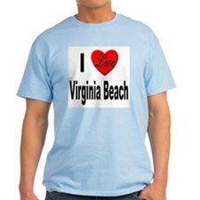I Love Virginia Beach (Front) T-Shirt