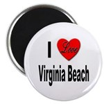I Love Virginia Beach Magnet