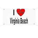 I Love Virginia Beach Banner