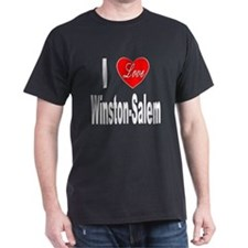 I Love Winston-Salem (Front) T-Shirt