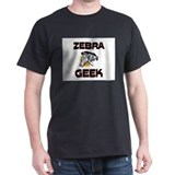 Zebra Geek T-Shirt