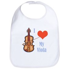 I Love My Viola Bib