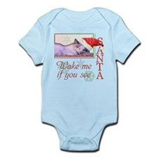 Wake Me If You See Santa Infant Bodysuit