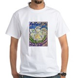 English Serenity Prayer Angel Shirt
