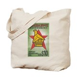 Zimbabwe airport tax stamp Tote Bag