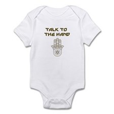 Talk to the Hand Infant Bodysuit