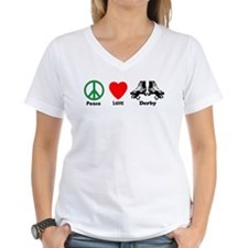Peace Love Derby Shirt