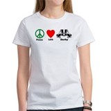 Peace Love Derby Tee