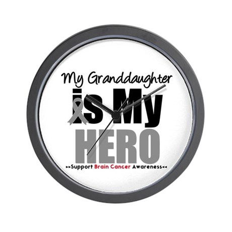 BrainCancerHero GD Wall Clock