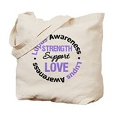 Lupus Support Tote Bag