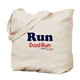 Run Dad Run Tote Bag