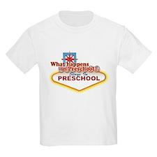 Stays In Vegas Preschool T-Shirt