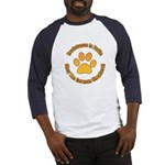 German Shepherd Dog Baseball Jersey