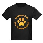 German Shepherd Dog Kids Dark T-Shirt