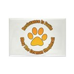 German Shepherd Dog Rectangle Magnet (100 pack)