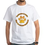 German Shepherd Dog White T-Shirt