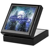Moonlight Twilight Forest Keepsake Box