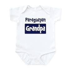 Paraguayan grandpa Infant Bodysuit