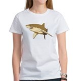 Shark art Tee