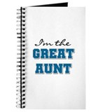 Blue Great Aunt Journal