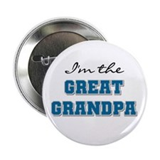 "Blue Great Grandpa 2.25"" Button (10 pack)"