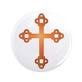 "Labyrinth Cross 3.5"" Button (100 pack)"