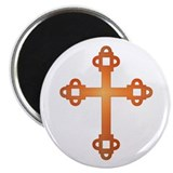 Labyrinth Cross 2.25&quot; Magnet (10 pack)