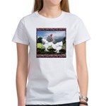 Framed Brahma Chickens Women's T-Shirt