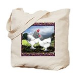 Framed Brahma Chickens Tote Bag