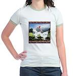 Framed Brahma Chickens Jr. Ringer T-Shirt