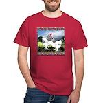 Framed Brahma Chickens Dark T-Shirt