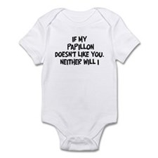 Papillon like you Infant Bodysuit