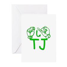 TJ Greeting Cards (Pk of 10)