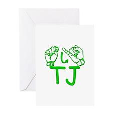 TJ Greeting Card