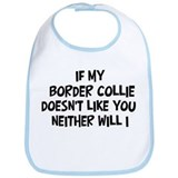 Border Collie like you Bib