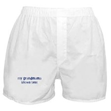 Grandmama knows best Boxer Shorts