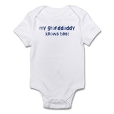 Granddaddy knows best Infant Bodysuit