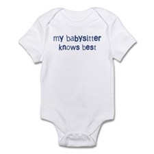 Babysitter knows best Infant Bodysuit