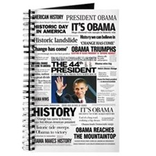 Obama: The 44th President Hea Journal