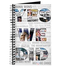Yes We Did: Historic Obama Newspaper Journal