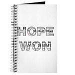 Hope Won Journal